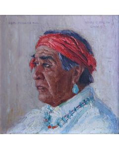 SOLD Henry C. Balink (1882-1963) - Hopi Medicine Man
