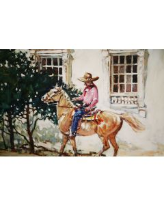 SOLD Ross Stefan (1934-1999) - Camino Real