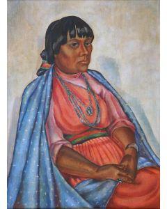 Dorothea Stevenson Casady (1910-2006) - Dolorita of San Juan Pueblo