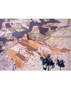 SOLD James Swinnerton (1875-1974) - South Rim, Grand Canyon