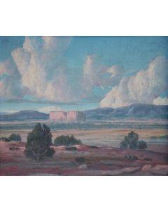 SOLD Carl von Hassler (1887-1969) - Enchanted Mesa