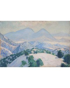 SOLD Sheldon Parsons (1866-1943) - Winter, Foothills, Santa Fe