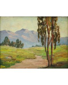 Ann Palmer (1889-1951) - California Plein Air Scene