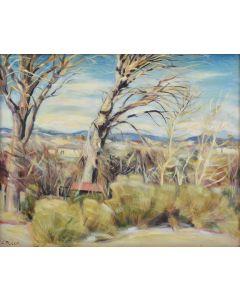 Joseph Fleck (1892-1977) - New Mexico Landscape