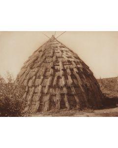 Edward S. Curtis (1868-1952) – Wichitag Grass-House