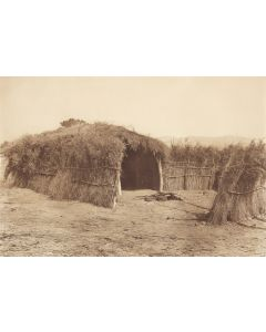 Edward S. Curtis (1868-1952) - Cahuilla House in the Desert