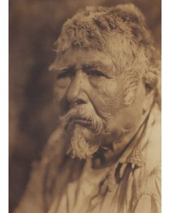 Edward S. Curtis (1868-1952) – A Diegueño of Capitan Grande