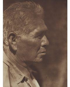 Edward S. Curtis (1868-1952) – A Southern Miwok