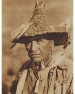 Edward S. Curtis (1868-1952) - Klamath Warrior's Head-Dress