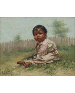 Grace Carpenter Hudson (1865-1937) - Greenie (PDC91643A-1220-003)