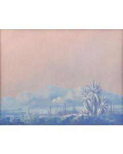 Jack Van Ryder (1899-1968) - Untitled - Desert Winter Scene (PDC91647A-0721-011)