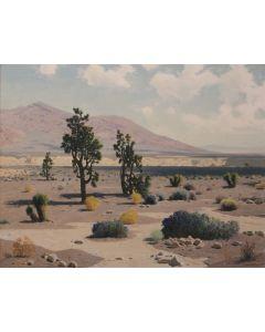 SOLD James Swinnerton (1875-1974) - Sheep Mountain Area Las Vegas Valley