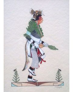 SOLD J. D. Roybal (1922-1978) - Pueblo Dancer