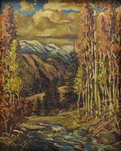 Ben Turner (1912-1966) - Mountain Stream