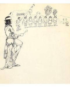 Edwin Willard Deming (1860-1942) - Untitled Indian Dance (PDC91866A-1220-001)