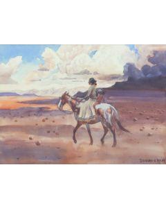 Leonard H. Reedy (1899-1956) - Navajo Woman (PDC91866A-1220-003)