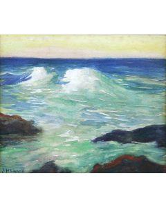 Joseph Henry Sharp (1859-1953) - Seascape (PDC91867A-1220-001)