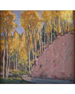 SOLD Joseph Roy Willis (1876-1960) - Mountain Festival Fall Scene