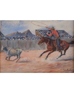 SOLD Pete Martinez (1894-1971) - Tucson Rodeo