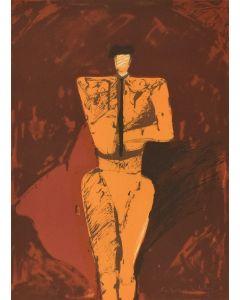 Fritz Scholder (1937-2005) - Portrait of a Matador
