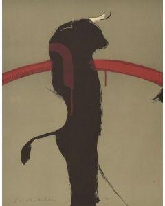 Fritz Scholder (1937-2005) - Portrait of a Bull