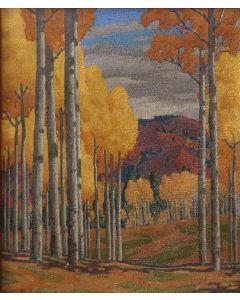 SOLD Joseph Roy Willis (1876-1960) - Golden Aspens
