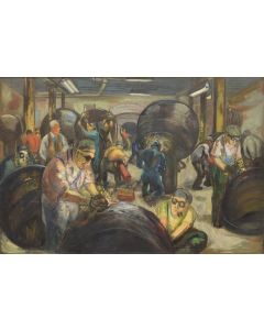 Louis Ribak (1902-1979) - The Foundry