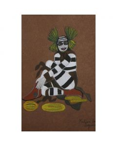 SOLD Encarnaciaon Pena (1902-1980) - Koshare Dancer