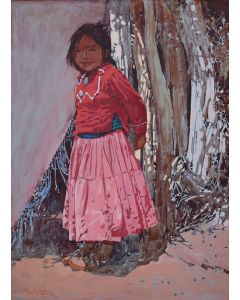 SOLD Ross Stefan (1934-1999) - Daisy Cly (from Kayenta, Airizona Navajo indian Reservation)