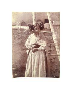 George Wharton James (1858-1923) - Hopi Maiden c. 1902