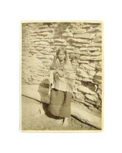 George Wharton James (1858-1923) - An Oraibi Madonna and Child c. 1902