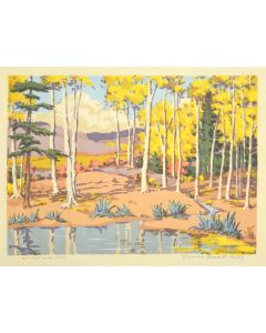 Norma Bassett Hall (1888-1957) - Mountain Pool