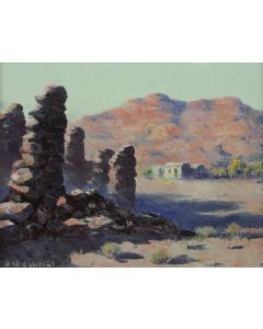 SOLD Olaf Wieghorst (1899-1988) - Marble Canyon Country