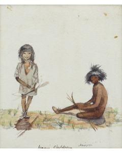 Artist Unknown - Moqui Children (M91963-0121-007)