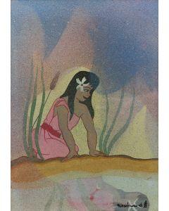 Helen (Little Standing Spruce) Hardin (1943-1984) - First Showering (PDC91963-0321-002)