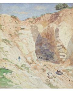 Samuel Colman (1832-1920) - Building the Railroad (PDC91963-1120-001)