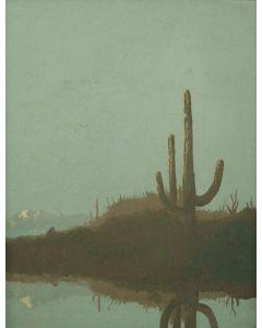 SOLD Javk Van Ryder (1898-1968) - Saguaros