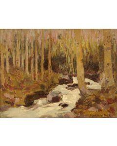 SOLD E. I. Couse (1866-1936) - Aspen