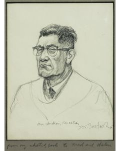 Joe Beeler (1931-2006) - Indian Preacher