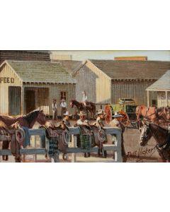 SOLD Russ Vickers (1923-1997) - The Wagon Yard