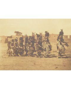 Edward S. Curtis (1868-1952) - Tablita Dance - San Ildefonso