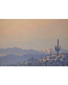 SOLD Jack Van Ryder (1899-1968) - Desert Saguaro