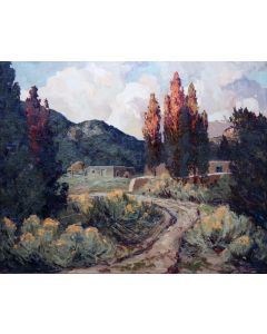 SOLD Fremont Ellis (1897-1985) - Adobe Canyon