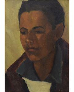 Attributed to Joseph Fleck (1892-1977) - Taos Boy