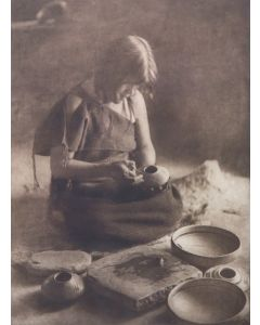 Edward S. Curtis (1868-1952) - The Potter (PDC92348A-0621-021)