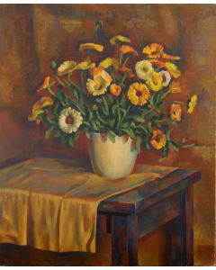 Kenneth Adams (1897-1966) - Floral Still Life