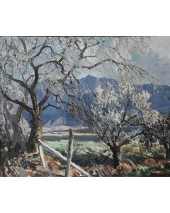 SOLD Fremont Ellis (1897-1985) - Orchard of Bloom