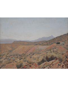 Maynard Dixon (1875-1946) - Randsburg, CA