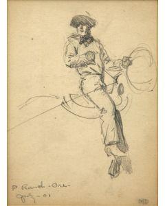 Maynard Dixon (1875-1946) - P Ranch Oregon