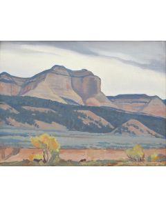 Maynard Dixon (1875-1946) - Dark Day